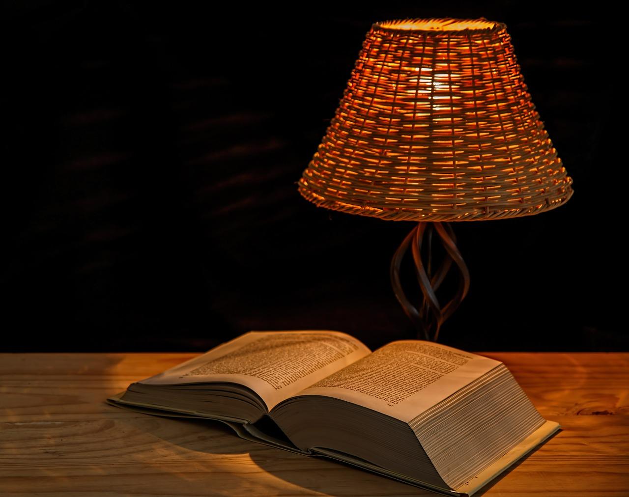 本とライト