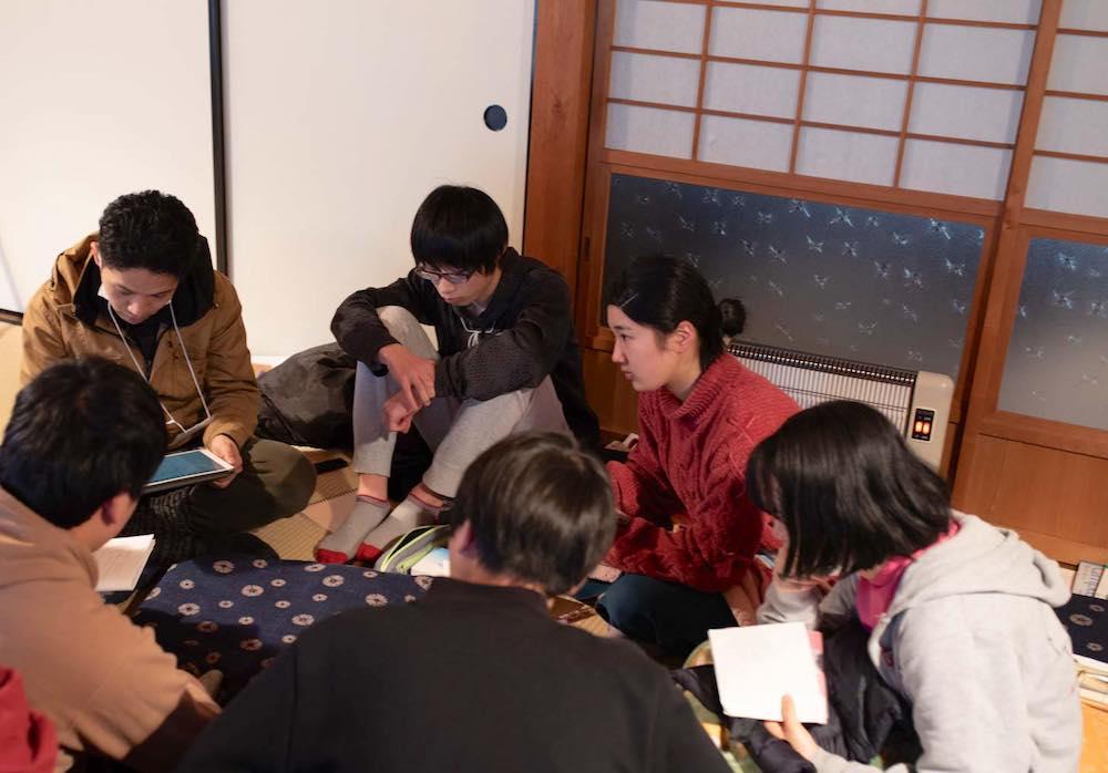 京都綾部での勉強合宿